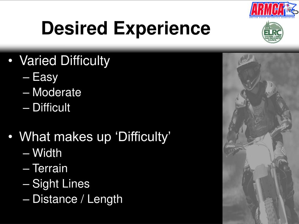 Desired Experience