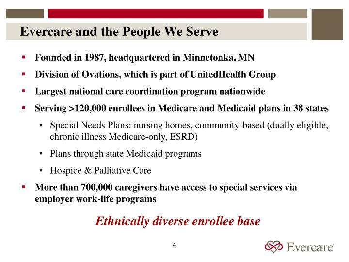 Evercare and the People We Serve
