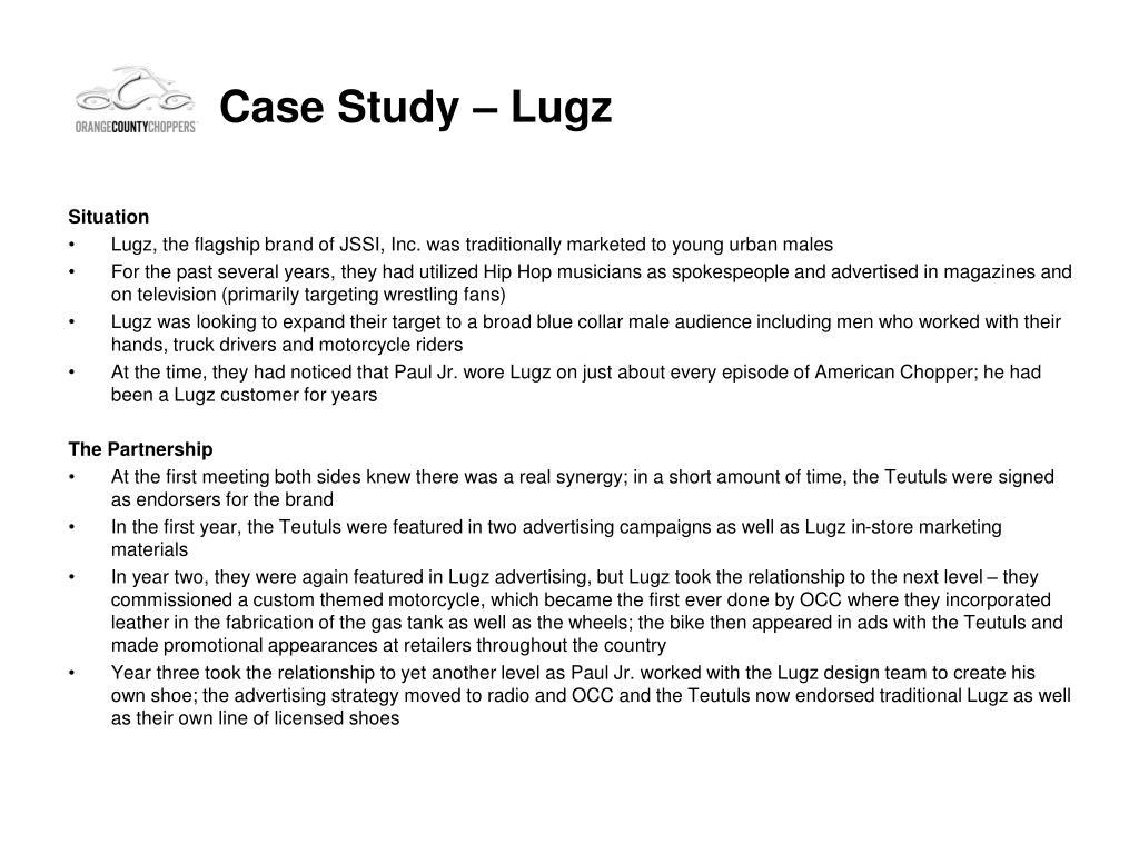 Case Study – Lugz