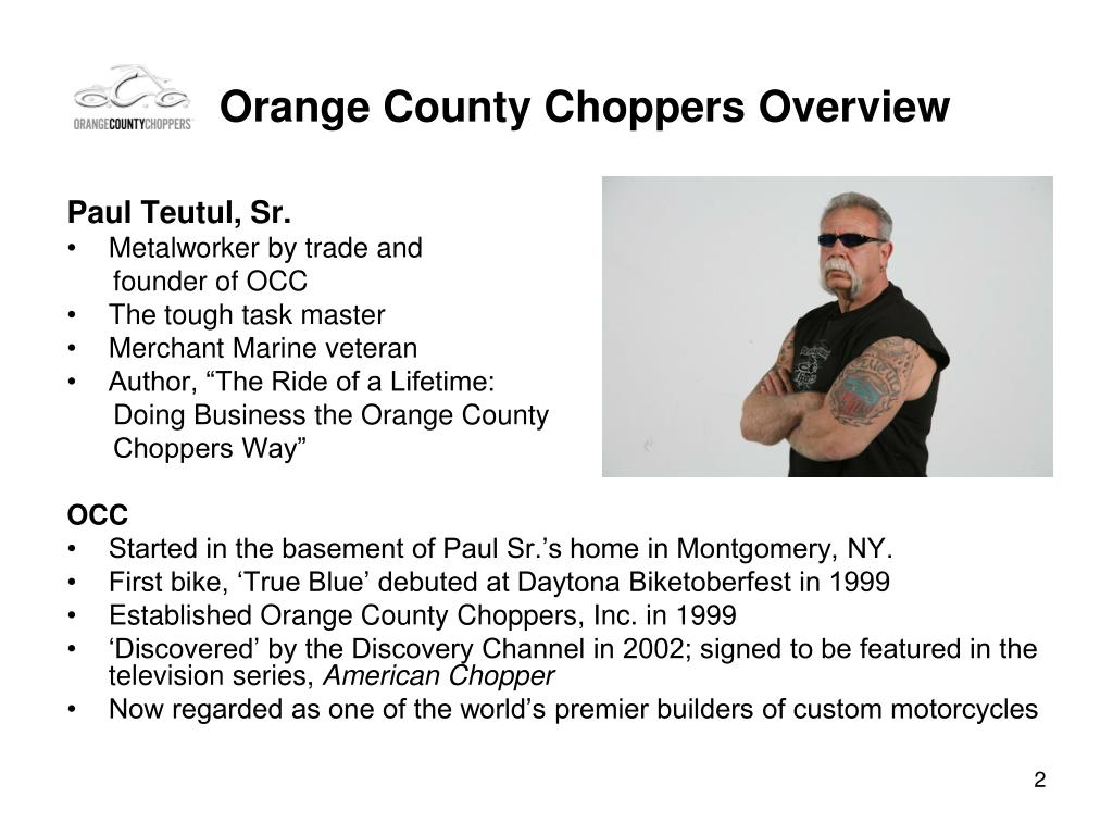 Orange County Choppers Overview