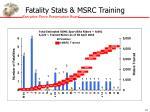 fatality stats msrc training