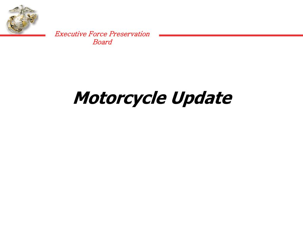 Motorcycle Update