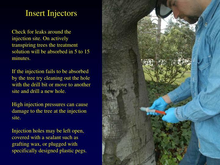 Insert Injectors