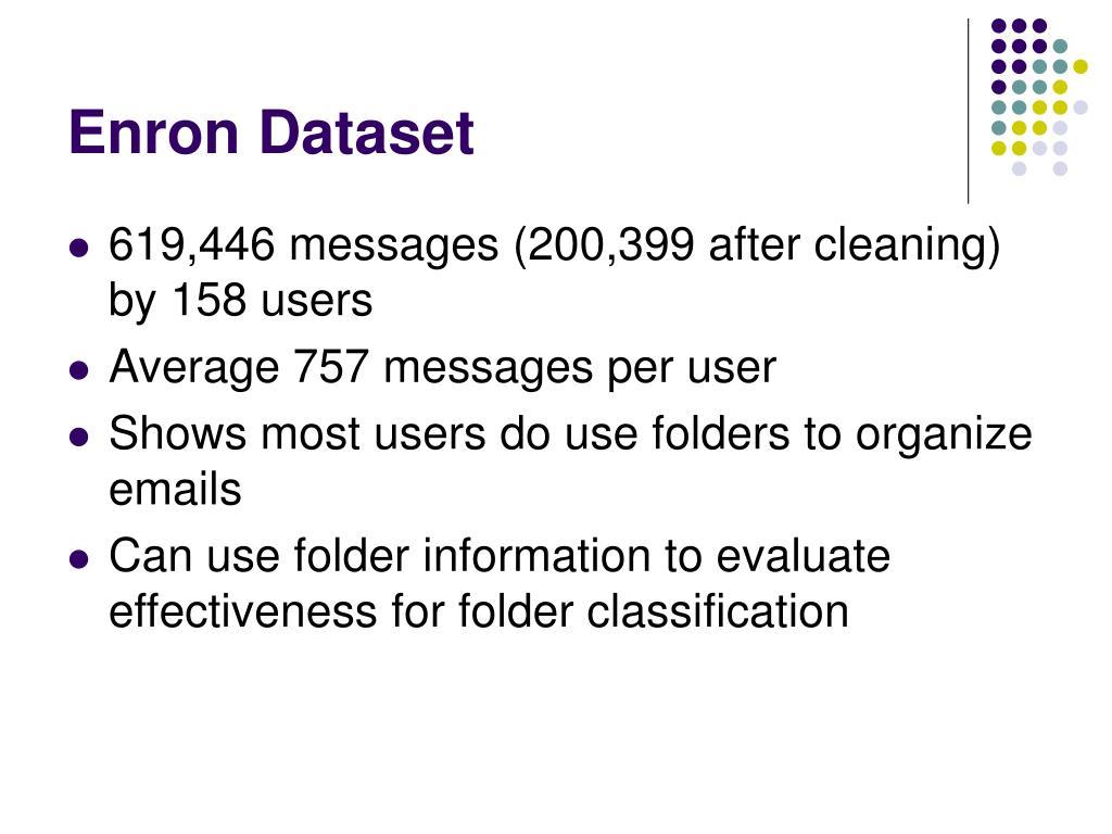 Enron Dataset