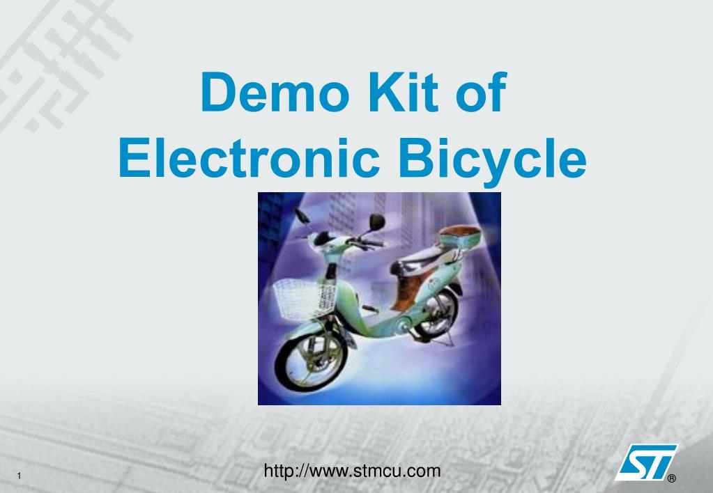 Demo Kit of Electronic Bicycle