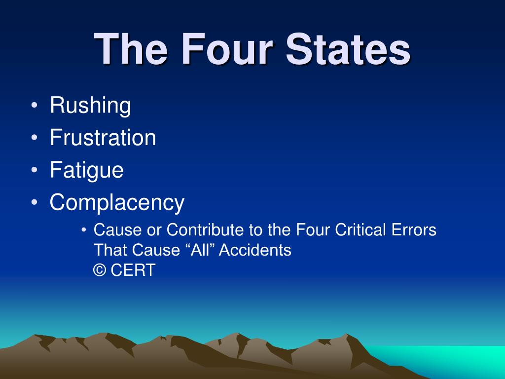 The Four States