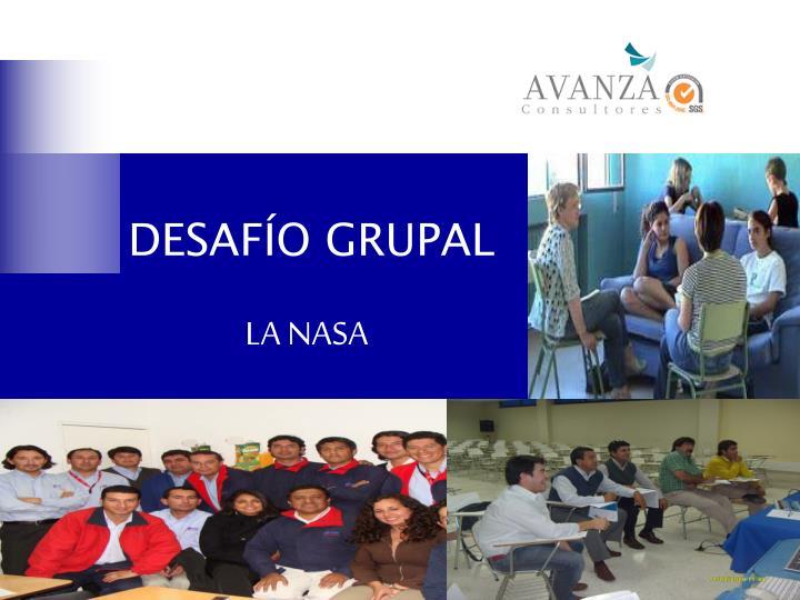 DESAFÍO GRUPAL
