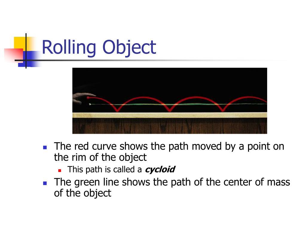 Rolling Object