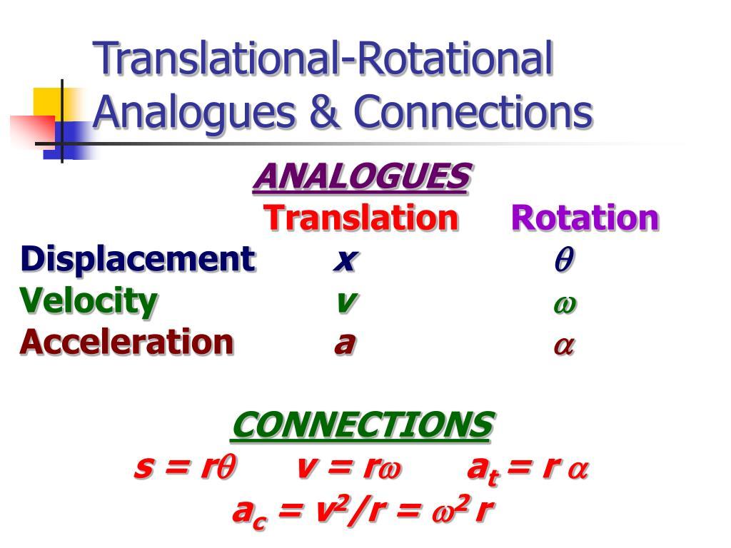 Translational-Rotational