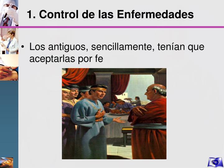1. Control de las Enfermedades