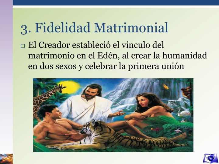 3. Fidelidad Matrimonial