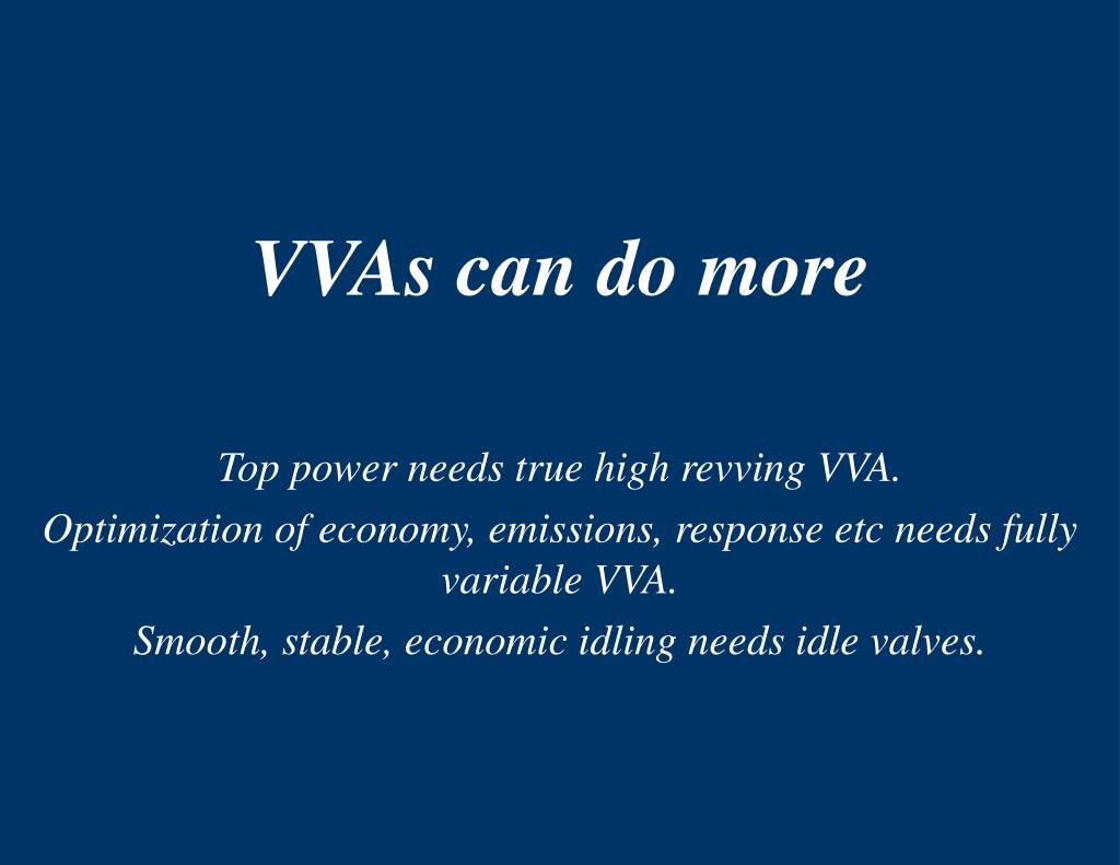 VVAs can do more