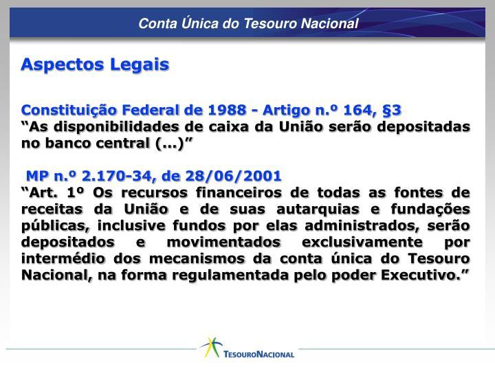 Conta Única do Tesouro Nacional