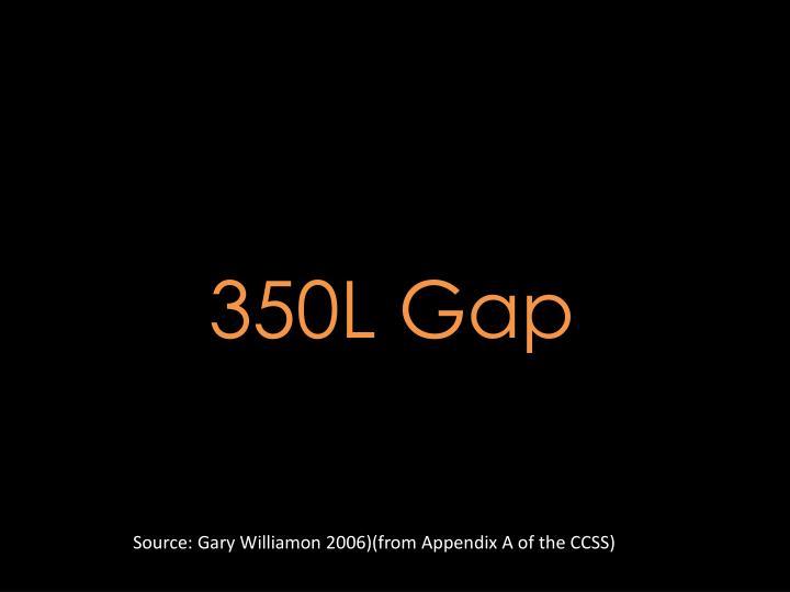 350L Gap