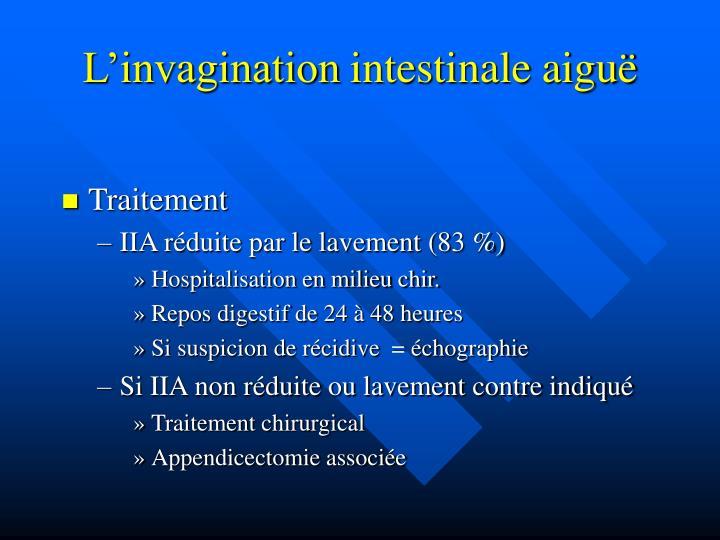 L'invagination
