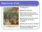 babylonian exile1