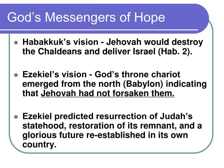 God's Messengers of Hope