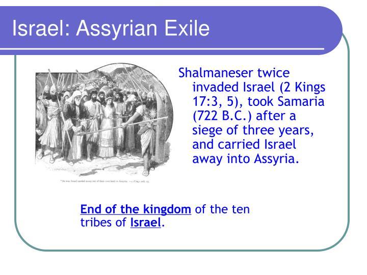 Israel: Assyrian Exile