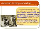 jeremiah to king jehoiakim2