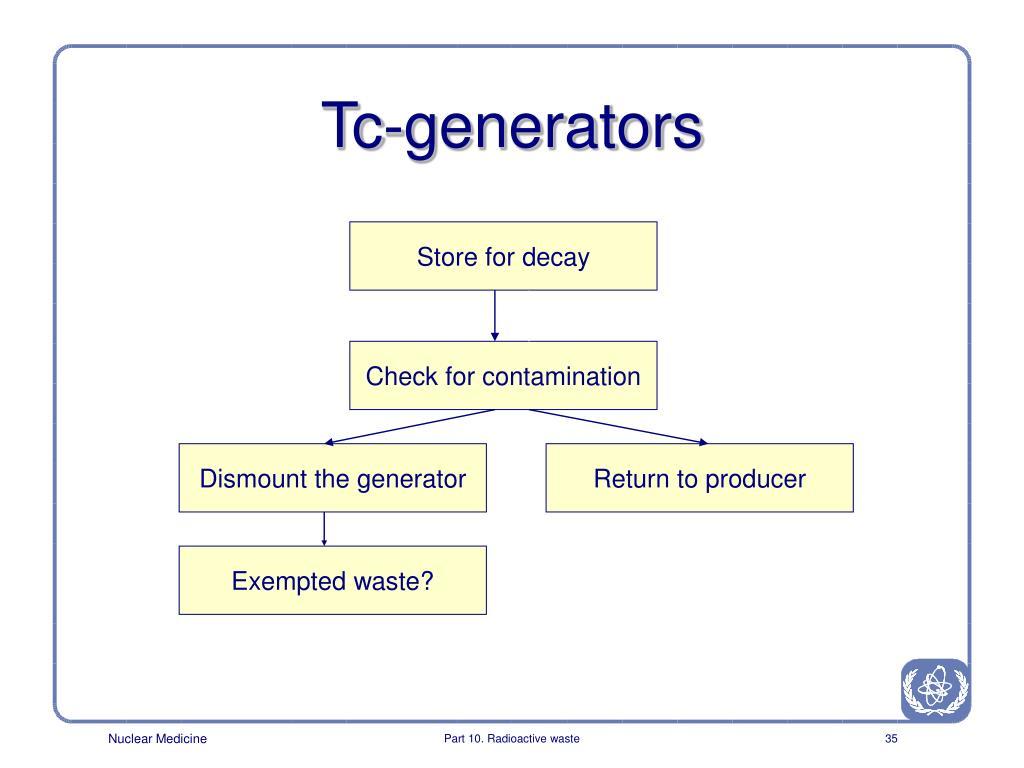 Tc-generators