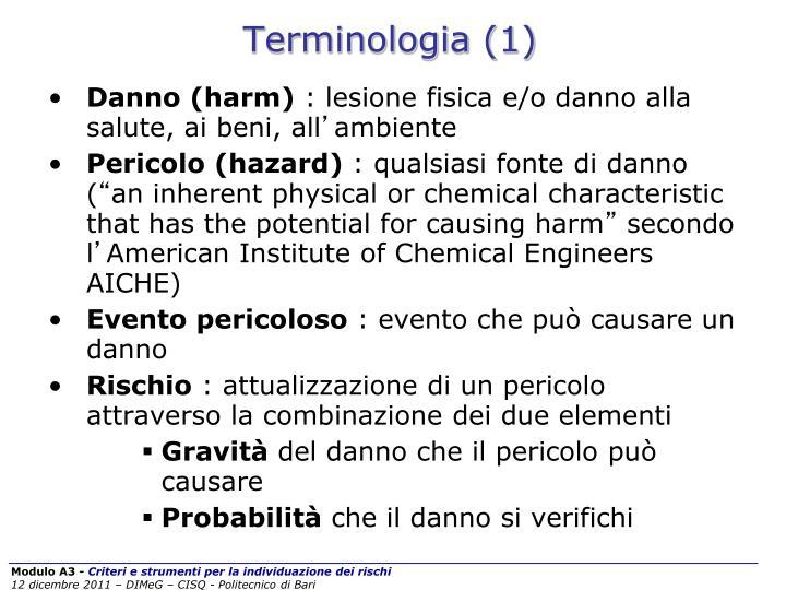 Terminologia (1)
