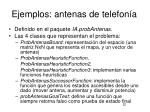 ejemplos antenas de telefon a