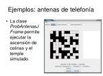 ejemplos antenas de telefon a1