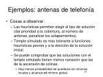 ejemplos antenas de telefon a2