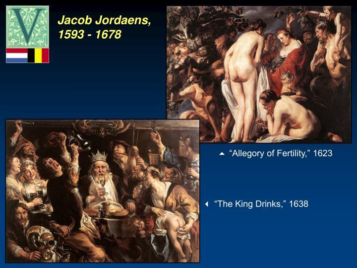 Jacob Jordaens, 1593 - 1678