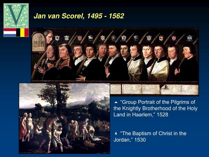 Jan van Scorel, 1495 - 1562