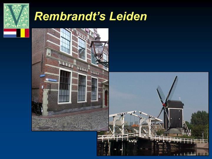 Rembrandt's Leiden