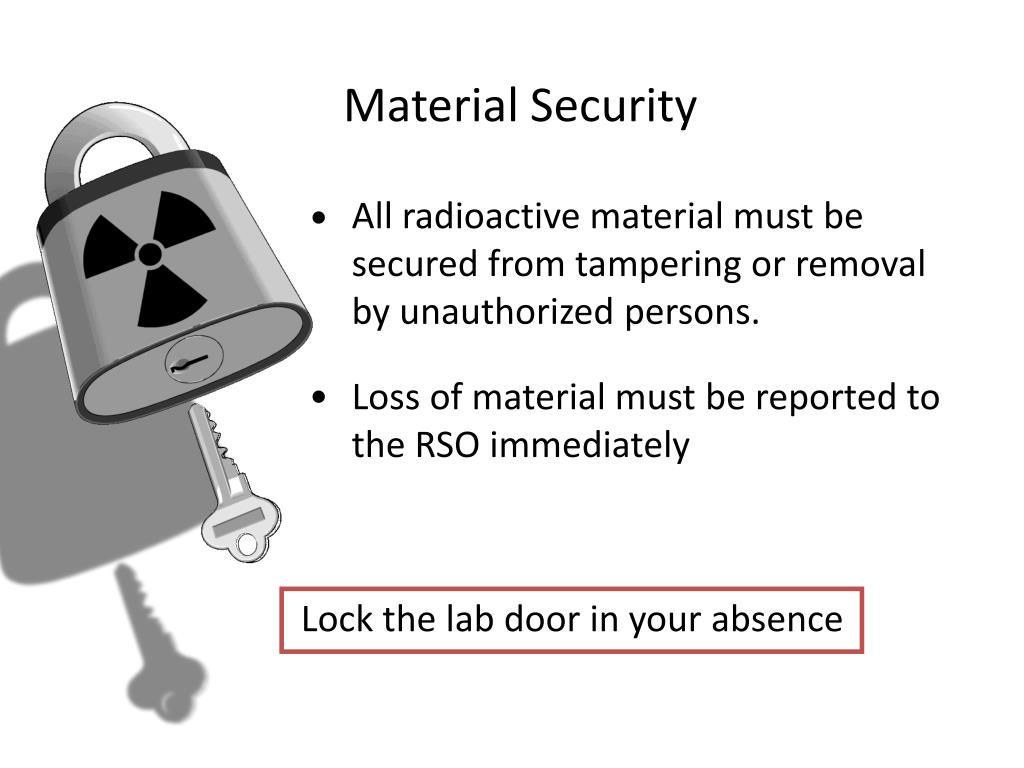 Material Security