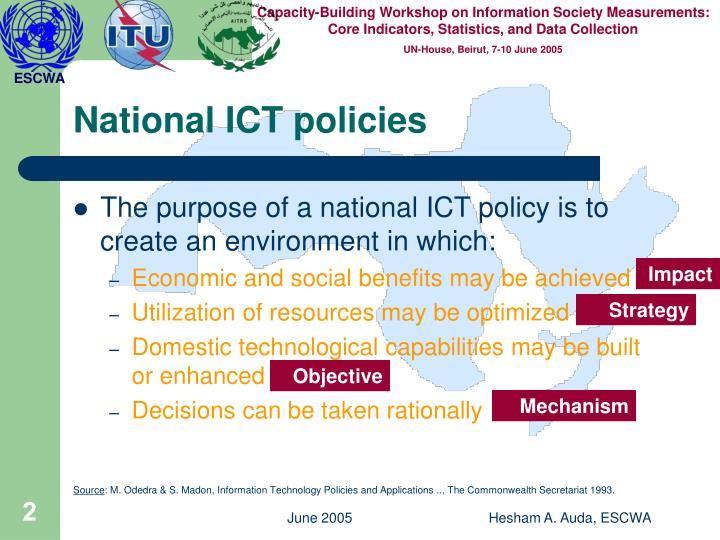 National ict policies