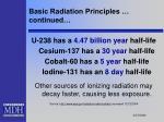 basic radiation principles continued13