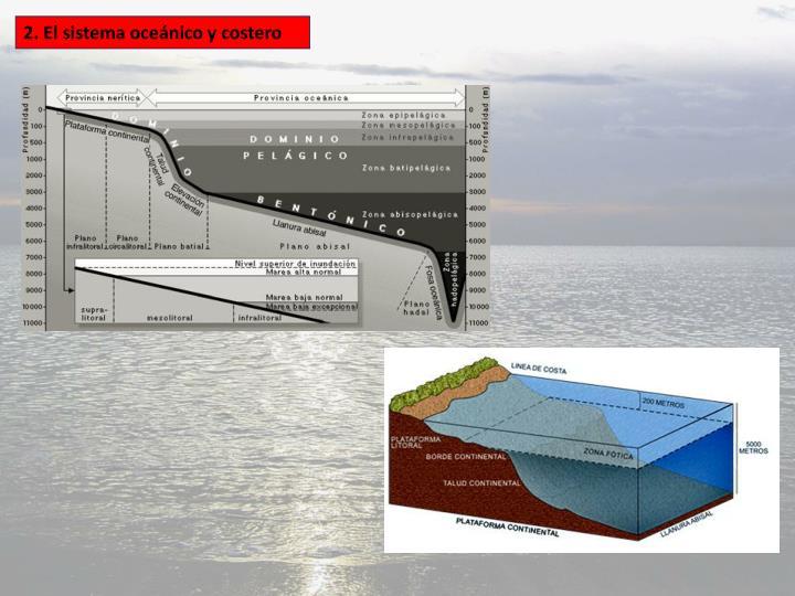 2. El sistema oceánico y costero