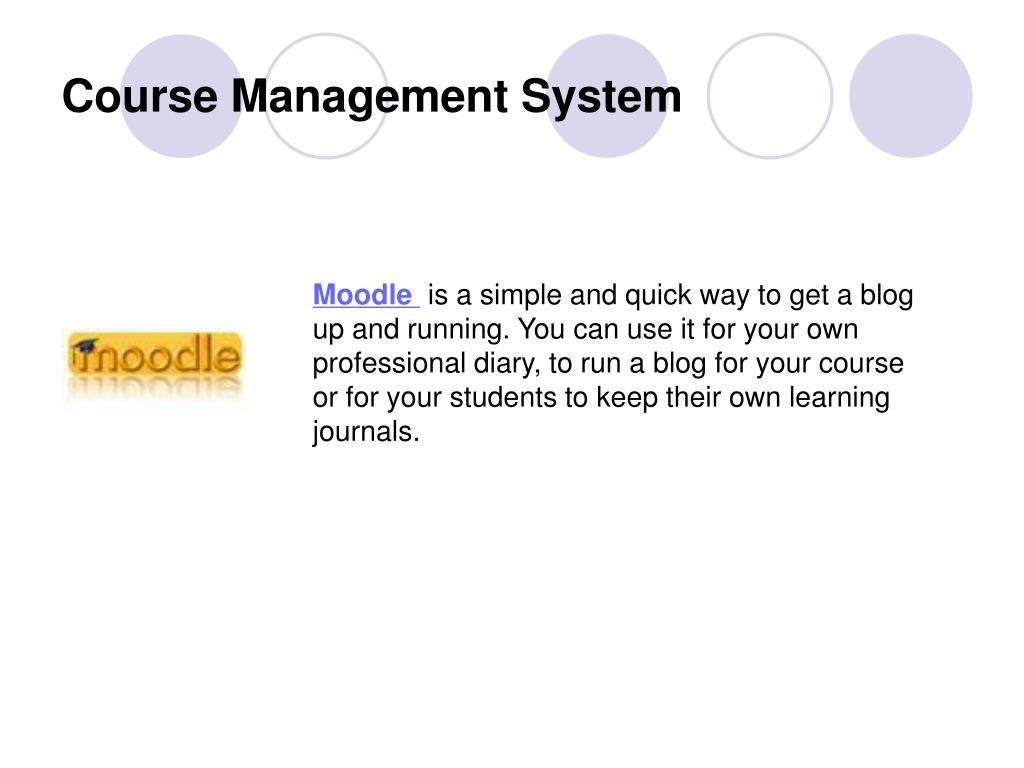 Course Management System