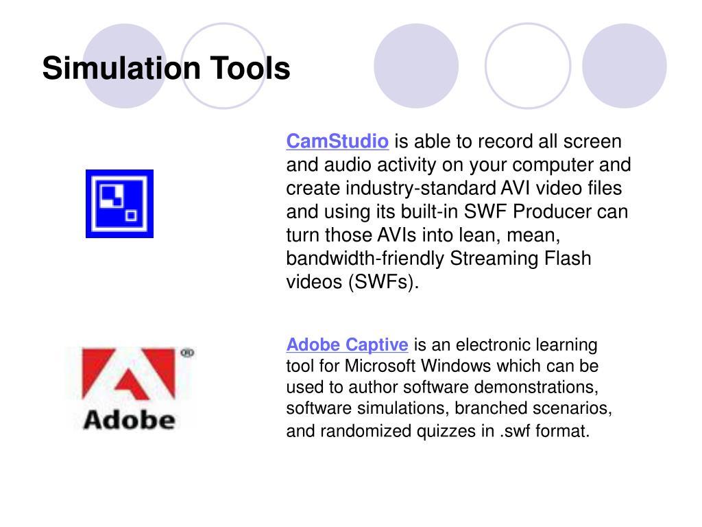 Simulation Tools