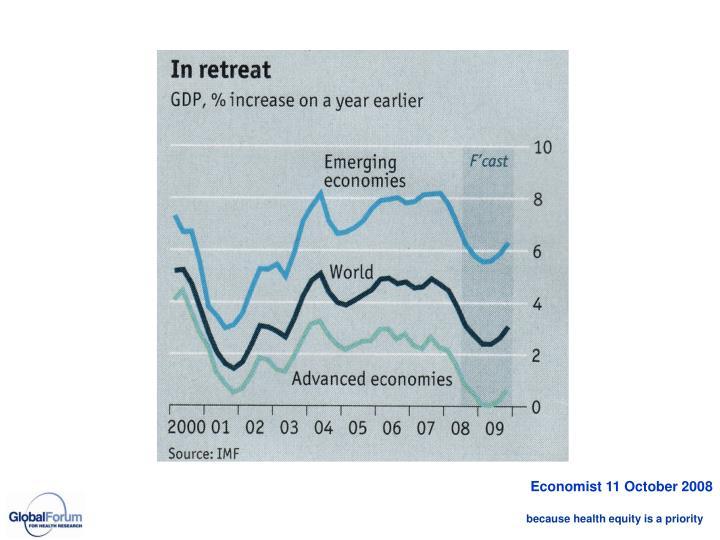 Economist 11 October 2008