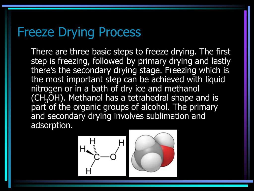 Freeze Drying Process