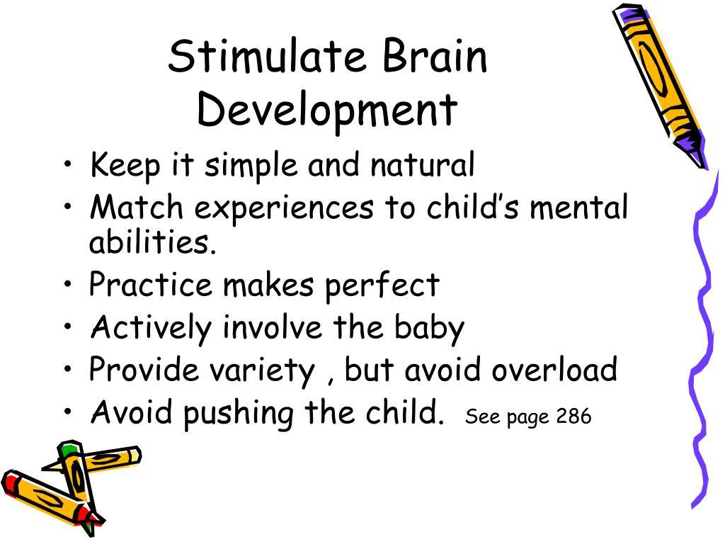 Stimulate Brain Development