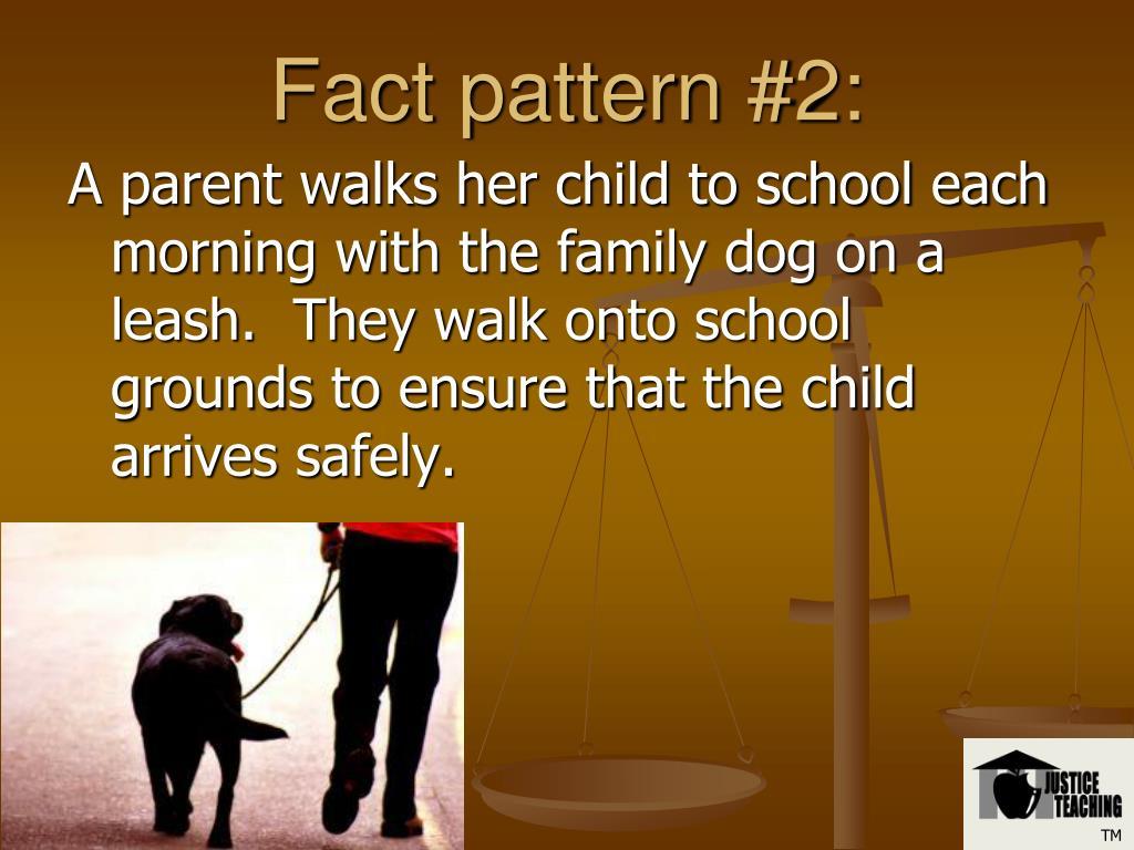 Fact pattern #2: