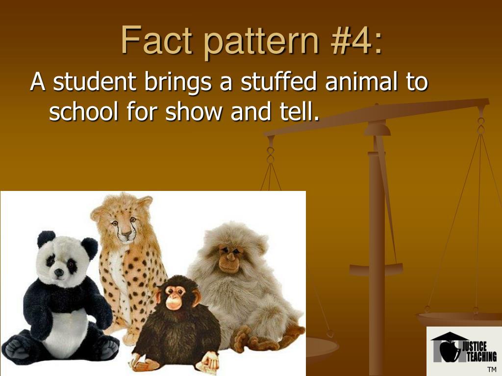 Fact pattern #4: