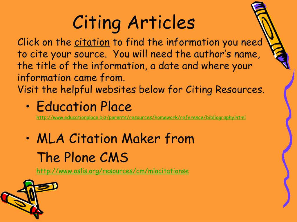 Citing Articles