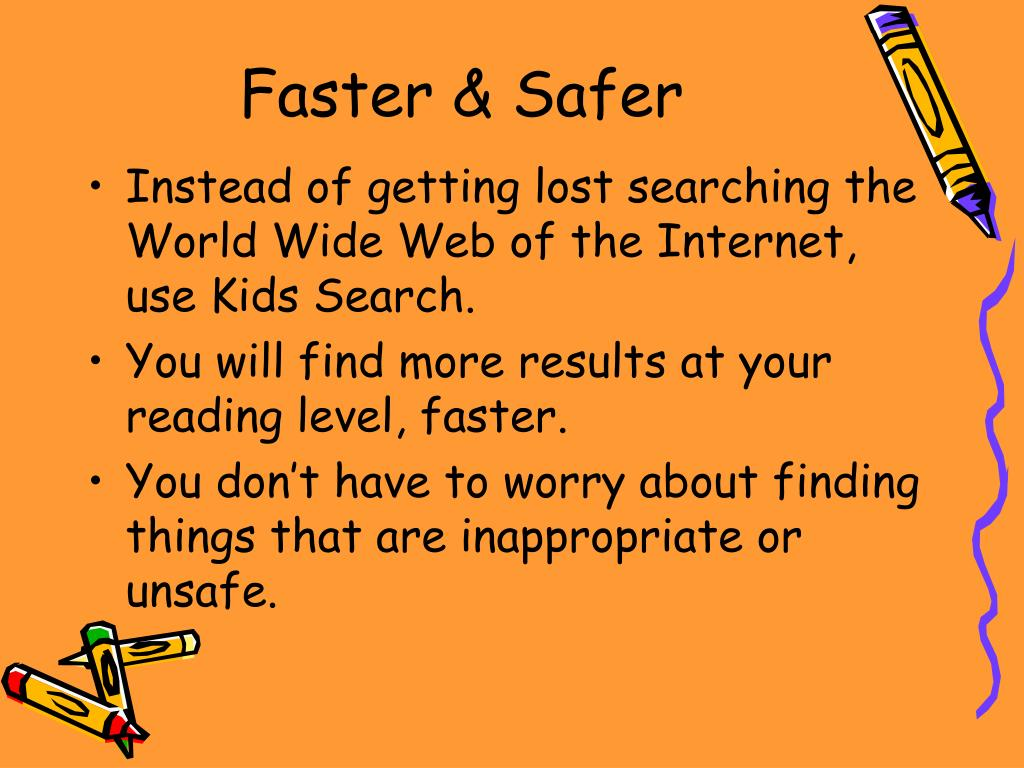 Faster & Safer