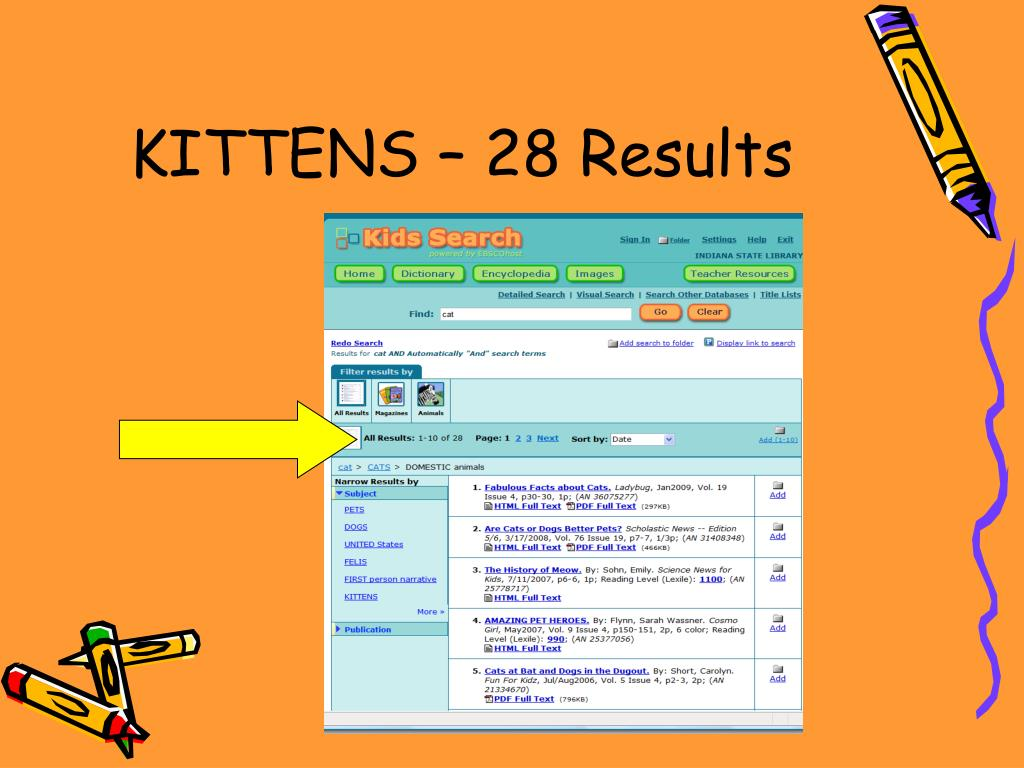 KITTENS – 28 Results