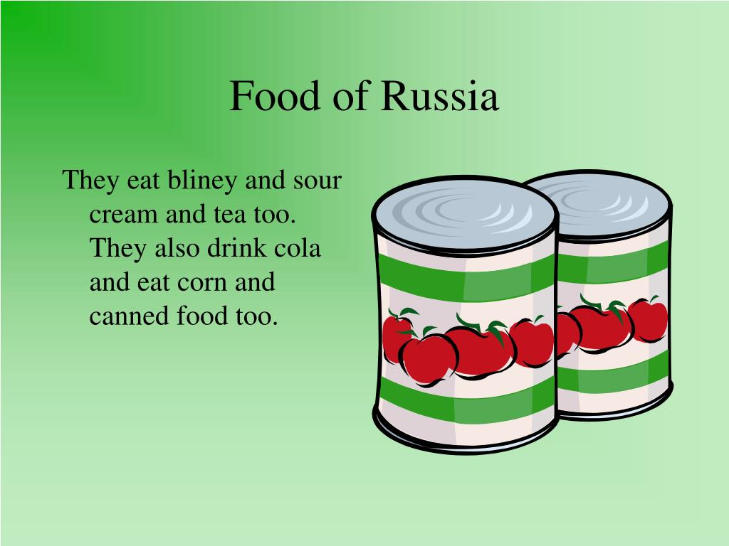 Food of Russia