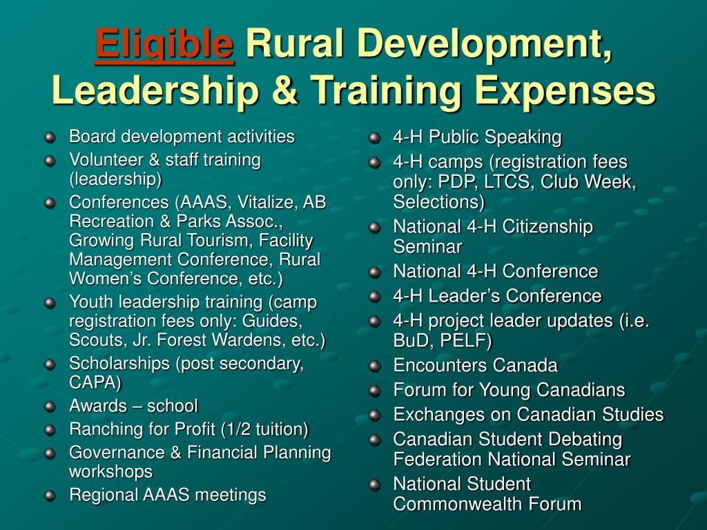 Board development activities