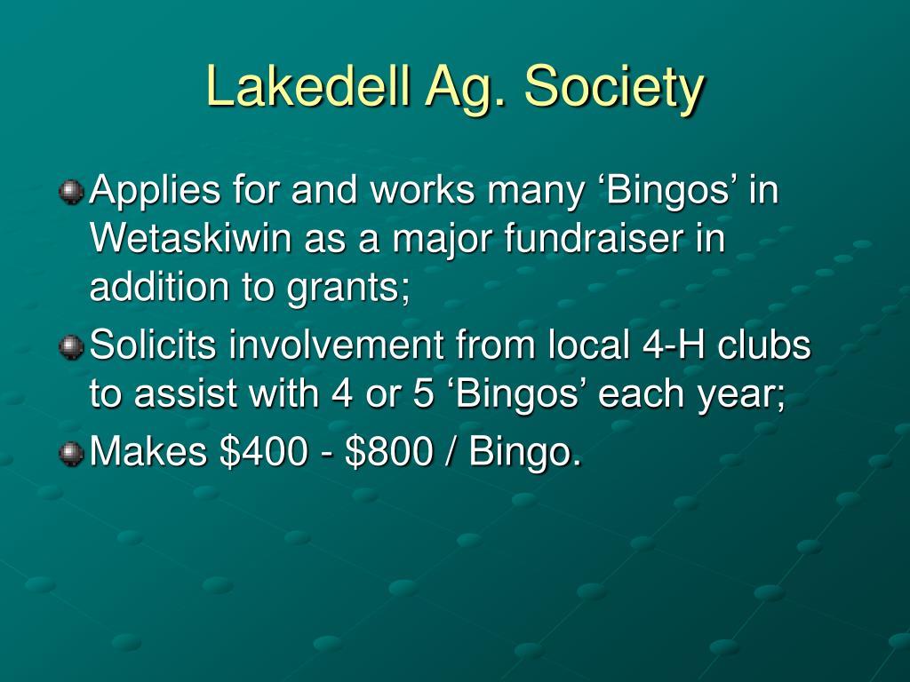 Lakedell Ag. Society