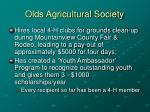 olds agricultural society15