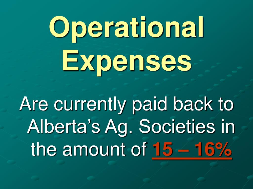 Operational Expenses